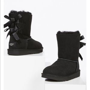 UGG toddler girl Bailey Bow ll boots